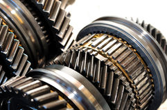 Car gears. Royalty Free Stock Photo