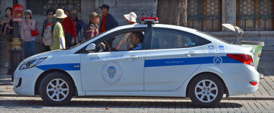 Car of General Directorate of Security Stock Photos
