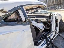 Car wreck Royalty Free Stock Photos