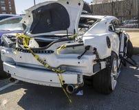 Car wreck Stock Photos