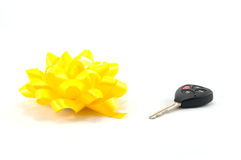 Car Gift Stock Photography