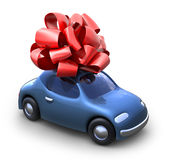 Car gift Royalty Free Stock Photo