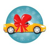 Car gift Stock Image