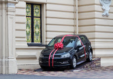 Car gift Volkswagen Polo Royalty Free Stock Images
