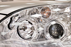 Car glass. New automobile front optics, stylish design Stock Photography