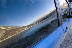 Car glass Royalty Free Stock Photography