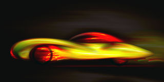 Car glowing effect Stock Photography