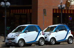 CAR2GO Royaltyfri Fotografi
