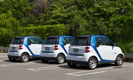 Car 2 Go Royalty Free Stock Images