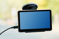 Car gps navigator Stock Images