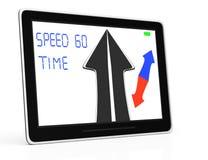 Car GPS navigator Royalty Free Stock Photography