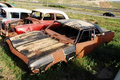 Car graveyard Royalty Free Stock Photography