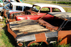 Car graveyard Stock Photography