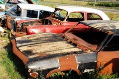 Car Graveyard Stock Photography