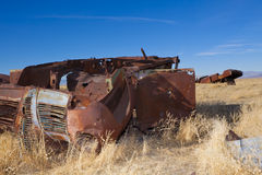 Car Graveyard Stock Images