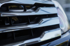 Car grill. Exterior car detail. Royalty Free Stock Photography