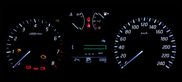 Car Guage Royalty Free Stock Photos