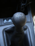 Car hand brake Royalty Free Stock Photography