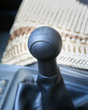 Car hand brake Stock Images