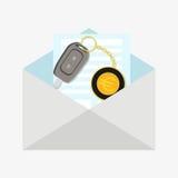 car happy key man new Бесплатная Иллюстрация