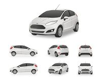 Car Hatchback Vector Royalty Free Stock Photo