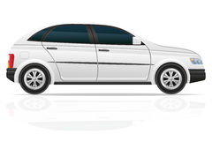 Car hatchback vector illustration Stock Photos