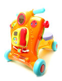 Car haul child classic color bright Royalty Free Stock Photography