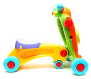 Car haul child classic color bright Stock Photo