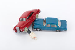A car have crashed Royalty Free Stock Photo