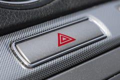 Car hazard warning button. Stock Images