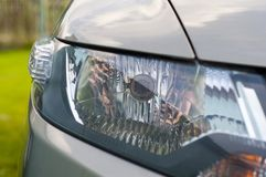 Car Head light Royalty Free Stock Photos