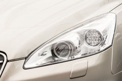 Car Head Light Stock Photo