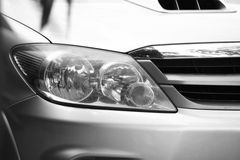 Car head light. Royalty Free Stock Images