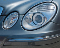 Car head lights Royalty Free Stock Images