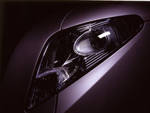 Car headlamp Royalty Free Stock Photos