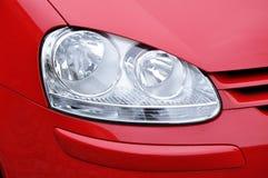 Car headlamp red stock images