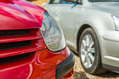 Car headlamp Stock Photography
