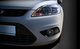 Car headlamps Stock Images