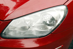 Car headlamps. Stock Image