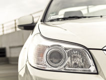 Car headlight. Royalty Free Stock Image