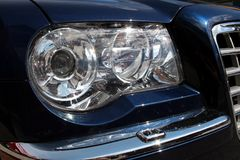 Car headlight Stock Photo