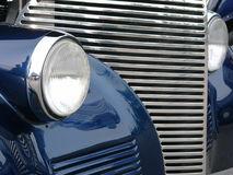 Car headlight.  stock photos