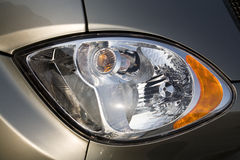Car headlight Stock Images