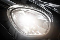 Car Headlight Background Stock Photos