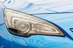 Car Headlight Close Up Stock Images