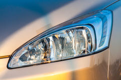 Car headlight close up Royalty Free Stock Image