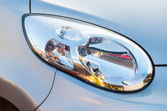 Car headlight close up Stock Photos