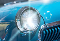 Car headlight. Royalty Free Stock Images
