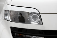 Car headlight Stock Photos