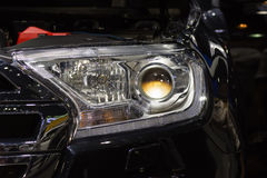 Car headlight or headlamp. Is a some of car parts in car or automobile Royalty Free Stock Image